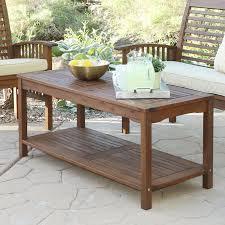 Patio Furniture Langley Darby Home Co Widmer Patio Coffee Table U0026 Reviews Wayfair