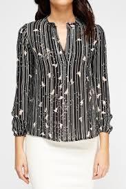 bird blouse bird print blouse just 5