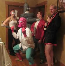 cheap halloween costumes idea sulley mike this would be cute for a running group costume diy