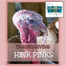 thanksgiving hink pink freebie by education contessa tpt