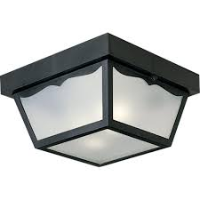 Outdoor Ceiling Lighting by Ceiling Light 60w Outdoor Flush Mount Non Metallic Ceiling Light