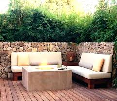 patio furniture for small spaces modern outdoor space best