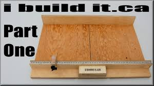 How To Make A Table Saw Sled Part 1 Youtube