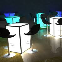 cocktail table rental led cocktail table rental nyc nj ct and island ny led