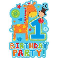 1st birthday invitation amazon com