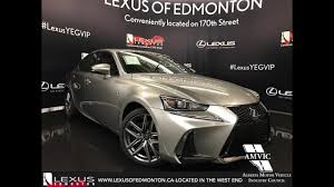 lexus is packages 2017 lexus is 350 awd review youtube