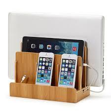 amazon com g u s multi device charging station dock u0026 organizer