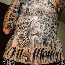 collection of 25 gangsta neck tattoos