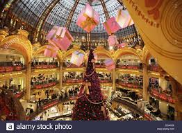 decorations in galeries lafayette department store