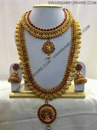 bridal sets for rent swarnam rent kemp wedding jewelry set k03