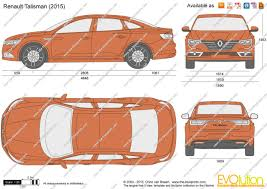 renault talisman 2015 the blueprints com vector drawing renault talisman
