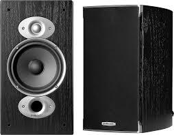 Bookshelf Speakers With Bass Polk Audio Rti A3 Black Bookshelf Speakers At Crutchfield Com