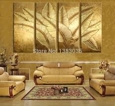 Wall Art Designs Gold Wall Art Canvas Hand Painted Gold