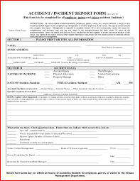 incident report template qld pretty incident report template free file fillable