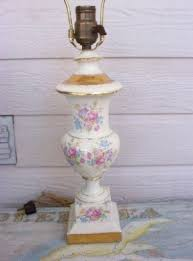 Antique Porcelain Table Lamps Floral Ceramic Table Lamp Foter