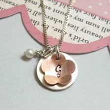 Personalized Initial Jewelry Popular Handmade Monogam U0026 Initial Necklaces