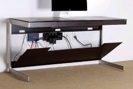Oak Computer Desks Uk Bdi Sequel 6001 Espresso Oak Computer Desk