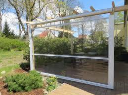 balkon wetterschutz regenschutz als markise rollo oder seitenwandallwetterschutz