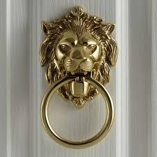 lion door knocker lewis lion s door knocker l14 x w10 5cm at lewis