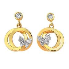 earrings gold design best 25 gold earrings designs ideas on diamond