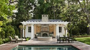 Furniture Pool House Design for Tropical House – Tropical Pool