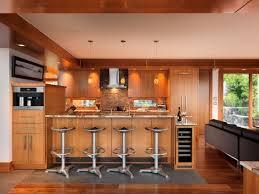 wohnideen minimalistische bar wohnideen küche modern holz möbel naturstein fliesenspiegel