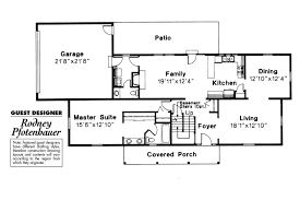 colonial style house plan 4 beds 3 50 baths 2400 sqft 429 33 plans