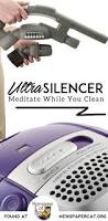 the electrolux ultrasilencer a conversation quiet canister