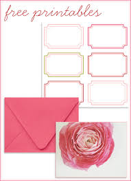 free printable cards address labels home creature comforts