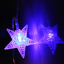 Blue Led String Lights by Star Rgby Battery Operated Led Christmas String Lights Torchstar