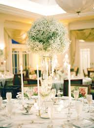 baby breath centerpieces baby s breath ideas archives southern weddings