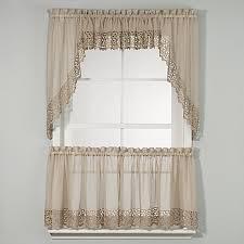 Kitchen And Bath Curtains by Bali Kitchen Window Curtain Tiers Bed Bath U0026 Beyond