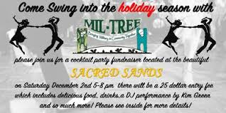 Cocktail Party Fundraiser - swing into the holidays with mil tree a cocktail party fundraiser