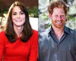 prince harry escorts kate middleton to christmas party