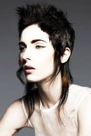 mullet hairstyles are unique hairstyles but this hair is getting