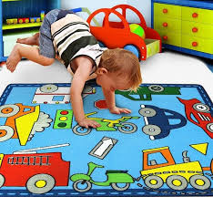 Childrens Area Rug 39 4 X 51 100 Rug Learning Carpets City Play