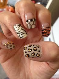easy leopard print nail design anna charlotta the astonishing pics