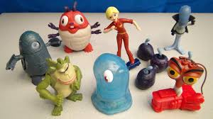 monsters aliens 2009 mcdonalds happy meal toy collection video