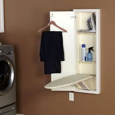 Full Size Ironing Board Cabinet Storage Wall Mount Ironing Boards Ironing Board And Iron Holder