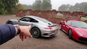 vs porsche 911 turbo 488 gtb vs porsche 911 turbo s vlog 73