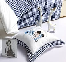 Mickey Mouse King Size Duvet Cover Free Shipping Mickey Mouse Minnie Mouse 4pcs Bedding Set Queen