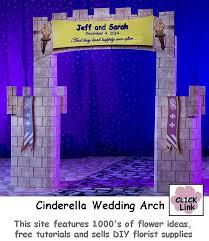 wedding arches supplies cinderella wedding arch fairy tale theme weddings