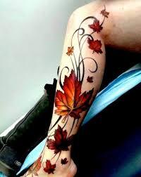 Lower Leg Tattoo Ideas Lower Leg Tattoo Tribal Leaves Lower Leg Tattoos Pinterest