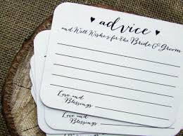 wedding well wishes cards 25 wedding advice for the and groom mr and mrs newlyweds