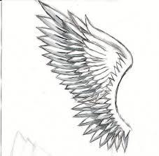 pencil drawings of angel wings pencil drawing of angels drawing