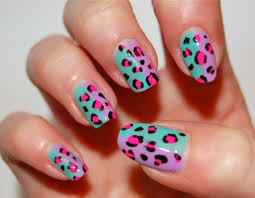 leopard print nail designs u2014 36 photos of the best design ideas