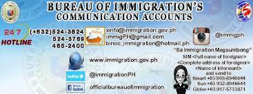 bureau d immigration bureau of immigration republic of the philippines home