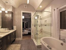 Bathrooms With Freestanding Tubs Contemporary Master Bathroom With Freestanding Bathtub U0026 Master