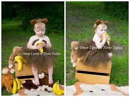 18 24 month halloween costume monkey tutu dress brown chimpanzee photo prop halloween