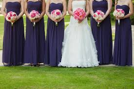 purple and orange wedding dress orange county wedding photography purple bridesmaids dresses pink